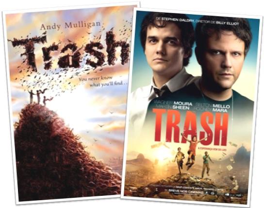 livro trash de andy mulligan e filme trash a esperança vem do lixo de stephen daldry com wagner moura e selton mello