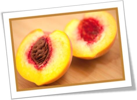 pit of the peach, caroço do pêssego, fruta, alimento, vegetal