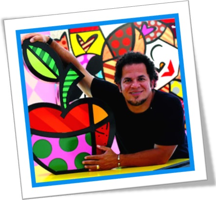 romero britto pinturas esculturas artista plástico pernambucano show art