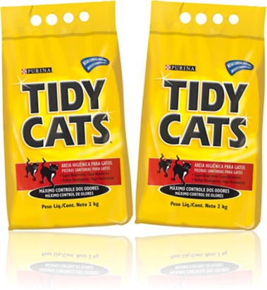 areia higiênica purina tidy cats, nestlé, urina de gatos