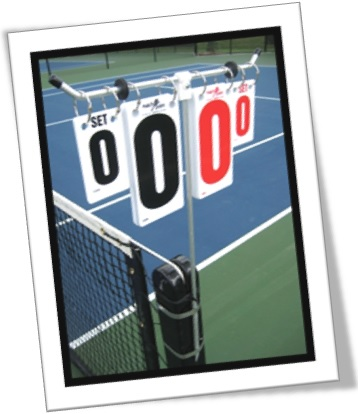 love love zero a zero tennis match game score