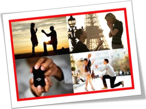 pedir alguém em casamento, pop the question to someone, anel de noivado