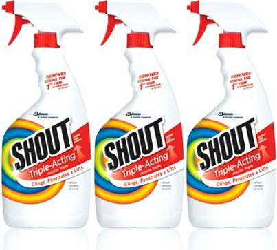 removedor de manchas shout stains remover roupas tecido lavanderia