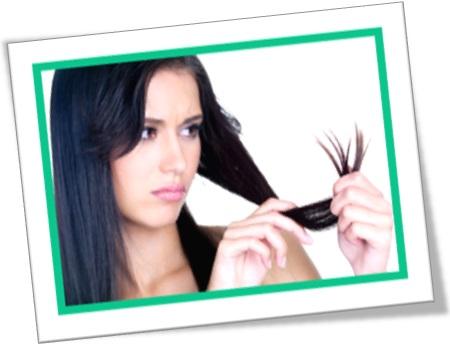 split hairs, dividir cabelos, mulher vendo fios dos cabelos