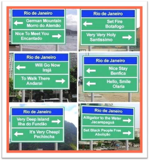brazilian english nomes de bairros do rio de janeiro em inglês