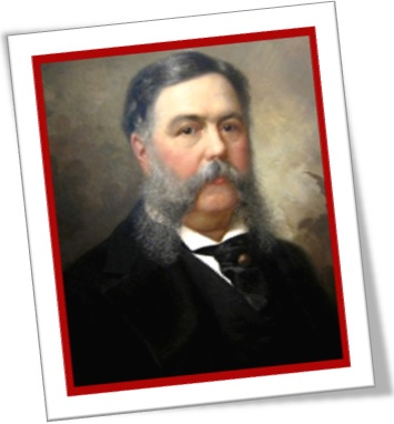 chester alan arthur, president of the united states of america