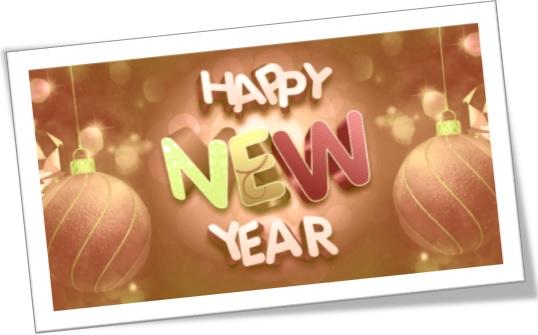 happy new year vocabulary, vocabulário de ano novo em inglês