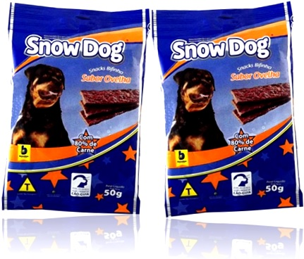snacks bifinho sabor ovelha snow dog