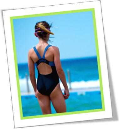 swimsuit, maiô, mulher, garota na praia, swimming costume, swimmer