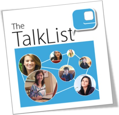 the talk list conversação conversation speaking inglês online english language