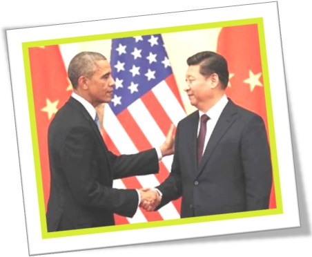 barack obama, usa china relationship, flags of united states and china