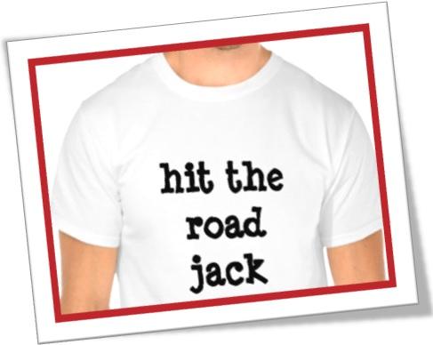 o que significa hit the road jack em inglês