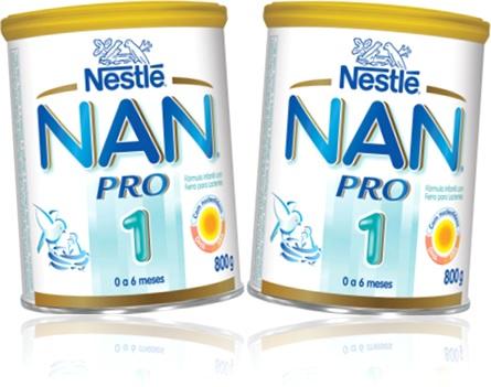 alimento bebê milk leite em pó nestlé nan pro