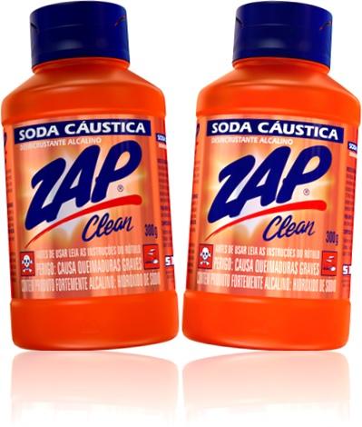 soda cáustica zap clean desencrustante alcalino limpeza corrosão