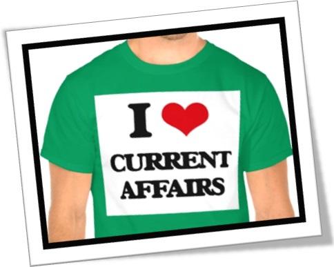 I love current affairs, amo atualidades, amo casos atuais