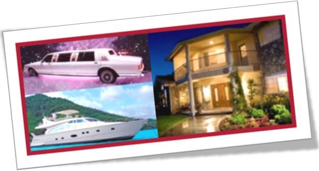 deluxe limousine, yacht, house, limousine, iate e casa de luxo