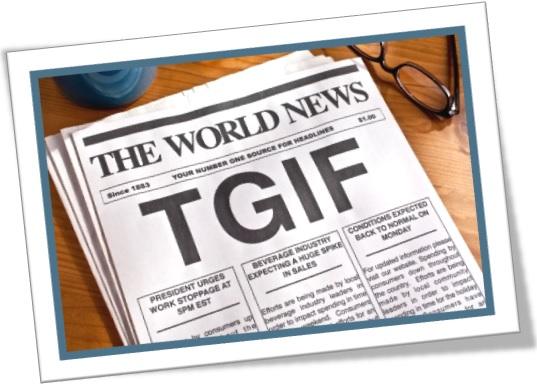 significado de tgif thanks god its friday em ingles, graças a deus é sexta feira