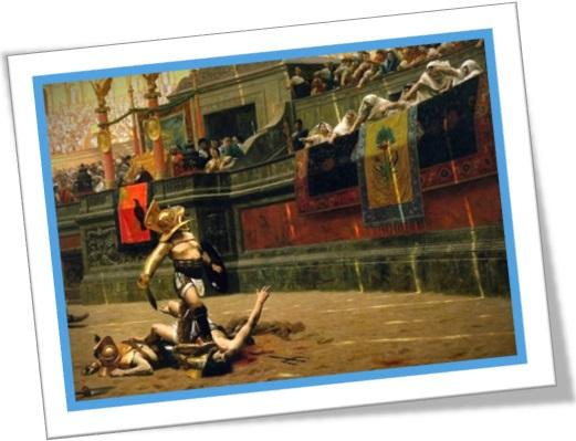 Pollice Verso (1872) pintura de Jean-Léon Gérôme