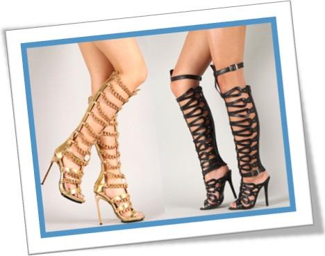 gladiator shoes, sapatos gladiadores, sandálias gladiadoras