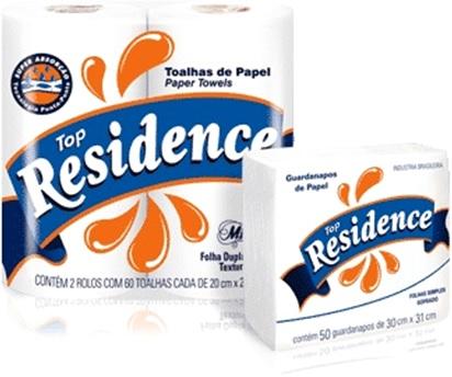 toalhas de papel e guardanapos de papel top residence