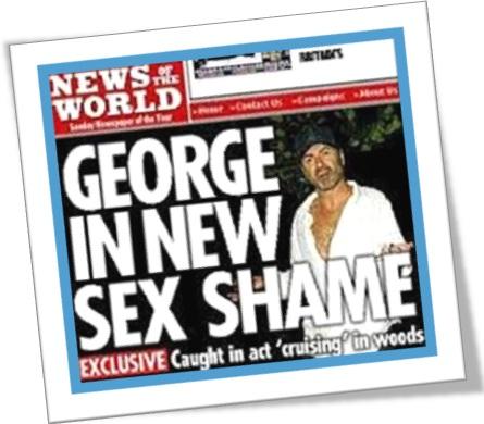 novo escândalo sexual, george in new sex shame