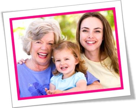 mãe, avó, filha, neta, dia das mães, relacionamento pais