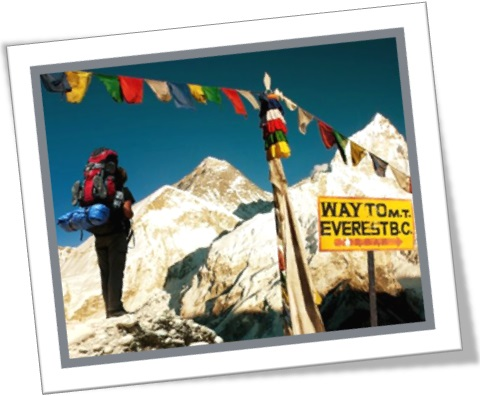 spirit of adventure, way to mountain everest, monte evereste