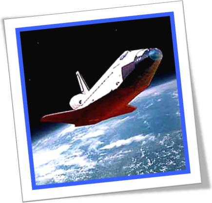ônibus espacial, planeta terra, órbita, space shuttle, be in orbit