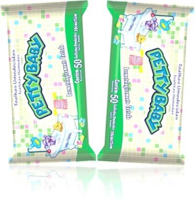 bebê, produtos infantis, toalhas umedecidas petty baby eurofral