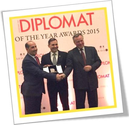 diplomat of the year awards 2015