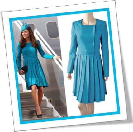 kate middleton and her aquamarine dress, duquesa, vestido cor água-marinha
