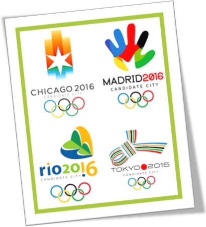 olympic games 2016 candidates cities chicago, madrid, rio de janeiro, tokyo