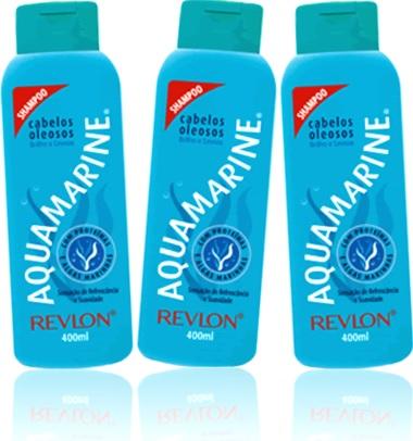 xampu,higiene, lavagem, shampoo revlon aquamarine cabelos oleosos