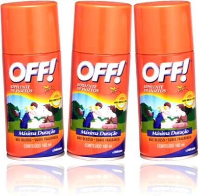 off repelente de insetos johnson não oleoso suave fragrância