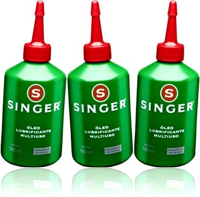 singer óleo lubrificante multiuso para motores, engrenagens, máquinas