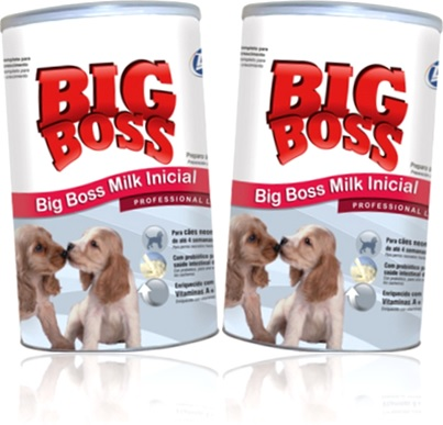 alimento para cães filhotes big boss milk inicial