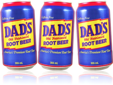 refrigerante soda dad dads old fashioned root beer caffeine free