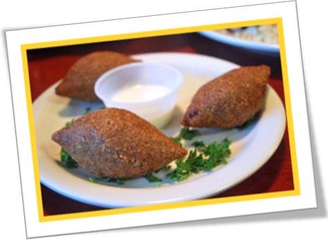 salgados, salgadinhos, prato de kibe quibe kibbeh, kibbe
