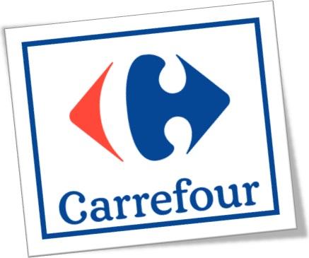 logotipo do grupo carrefour supermercado supermarket hipermercado institucional