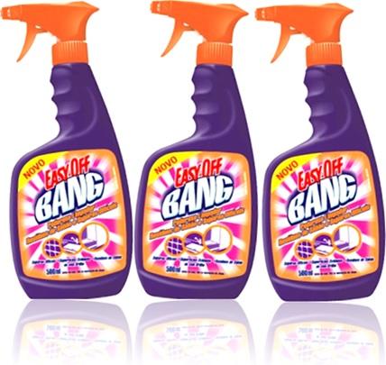 easy-off bang limpador com gatilho, resíduos de sabão, sujeiras difíceis
