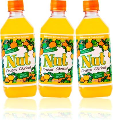 laranja, limão, lima, nut refresco frutas cítricas adoçado vitamina c