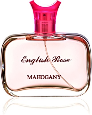 rosa inglesa, perfumaria, perfume feminino english rose mahogany