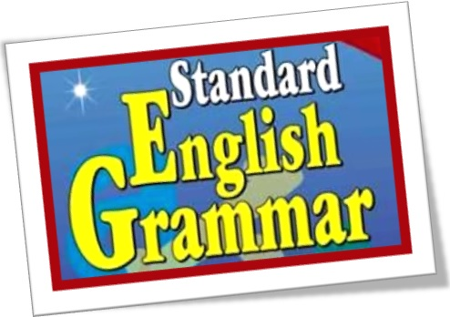 capa de gramática de inglês padrão, standard english grammar