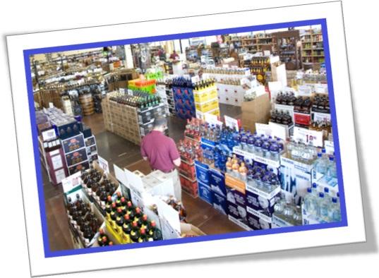 beverage section seção de bebidas refrigerantes sucos em inglês