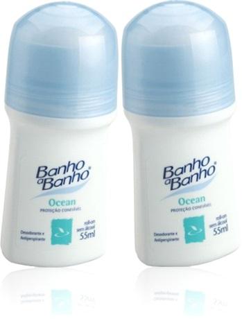 desodorante banho a banho roll on ocean antitranspirante