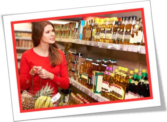packaged goods section, seção de alimentos em inglês, produtos alimentícios