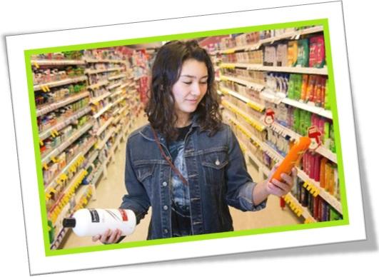 personal hygiene section, seção de produtos de higiene pessoal em inglês