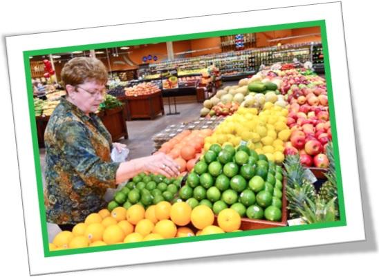 produce section, seção de hortifruti, frutas, verduras, legumes