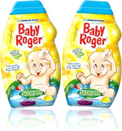 shampoo baby roger infantil roger do brasil, xampu para crianças