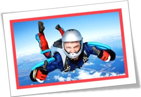 extreme sports, skydiving, paraquedismo, homem pulando de paraquedas, esportes radicais